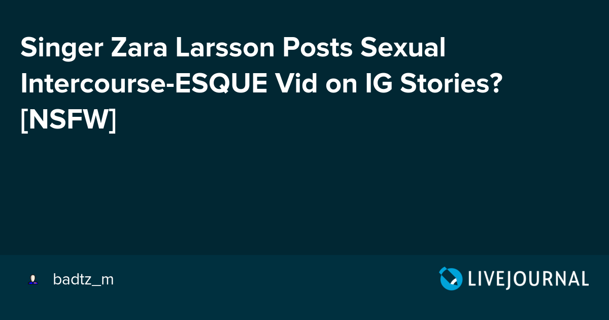 Sexual inter course stories