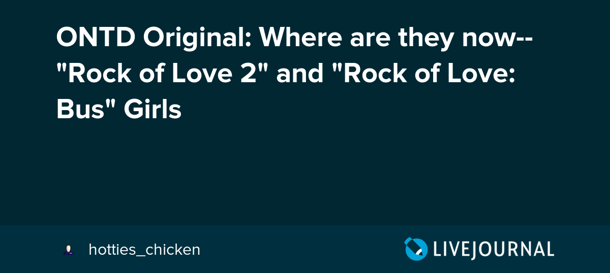 Confirm. rock of love destiny ass removed (has