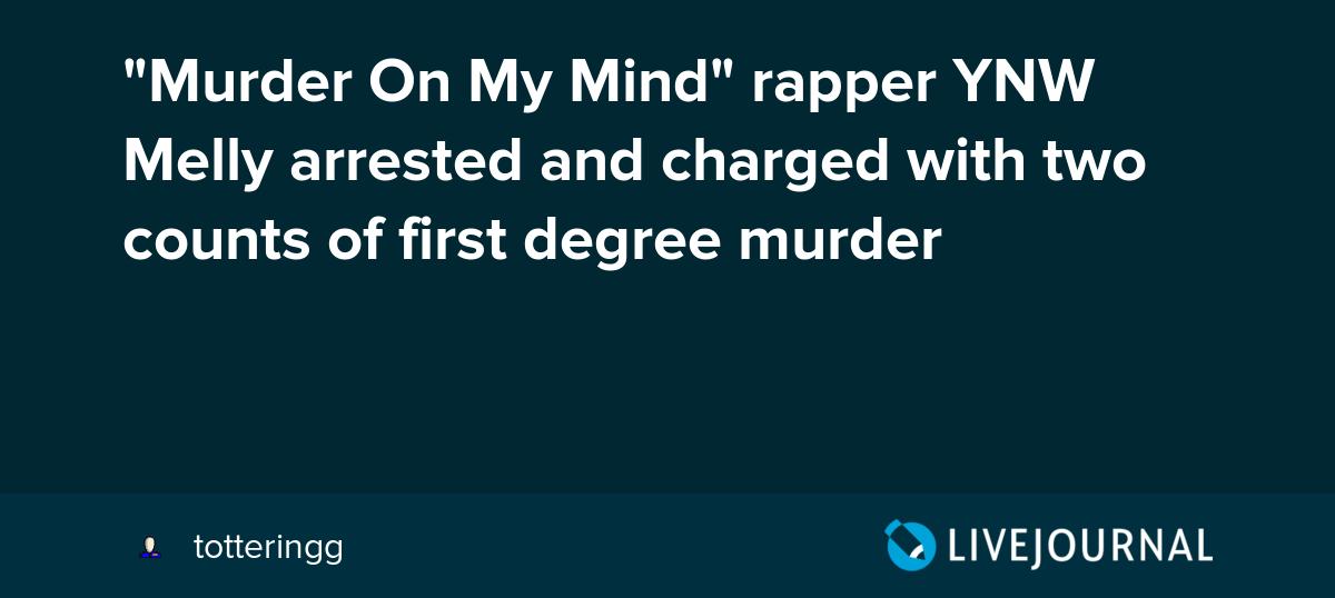 Murder On My Mind