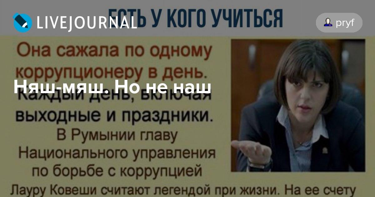 Лаура ковеши она сажала по одному коррупционеру в день 37