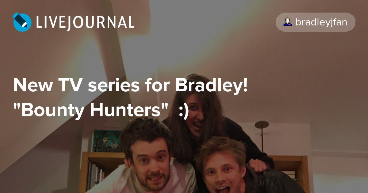 New TV series for Bradley!