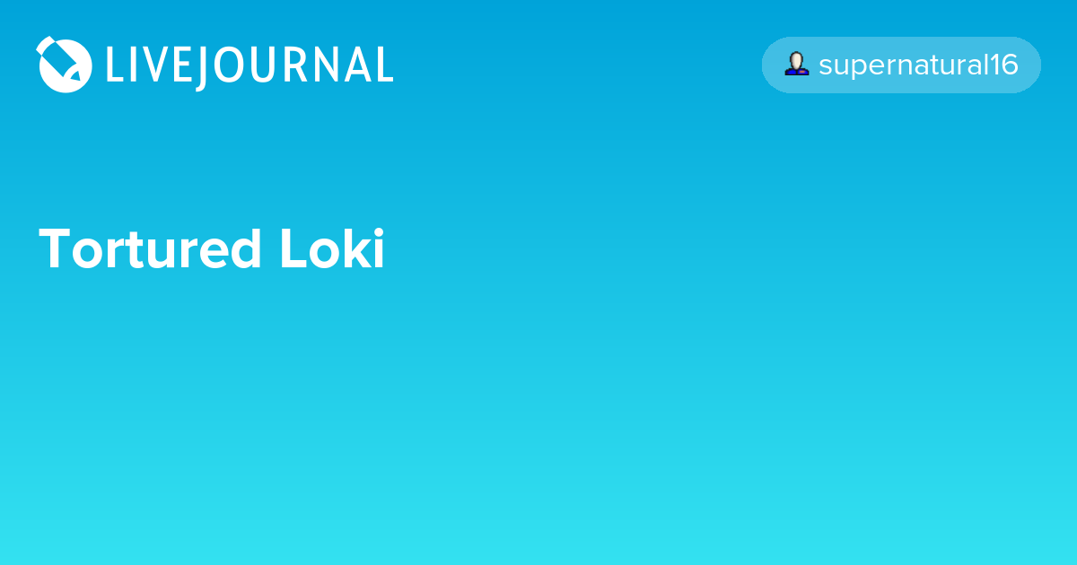 Tortured Loki: avengers_search — LiveJournal