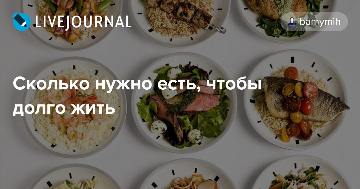 шестиразовое питание для похудения меню