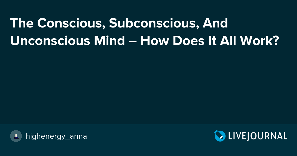 the conscious and unconscious mind philosophy essay The unconscious mind is a reservoir of feelings, thoughts, urges, and memories that outside of our conscious awareness most of the contents of the unconscious are unacceptable or unpleasant, such as feelings of pain, anxiety, or conflict.