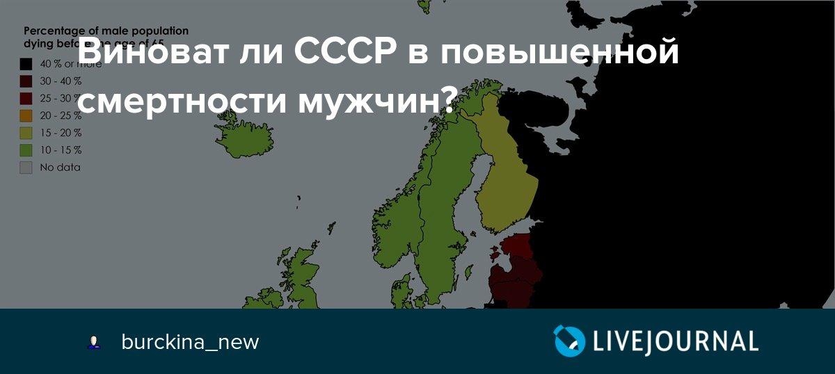 60ab89c4abb Виноват ли СССР в повышенной смертности мужчин   burckina new