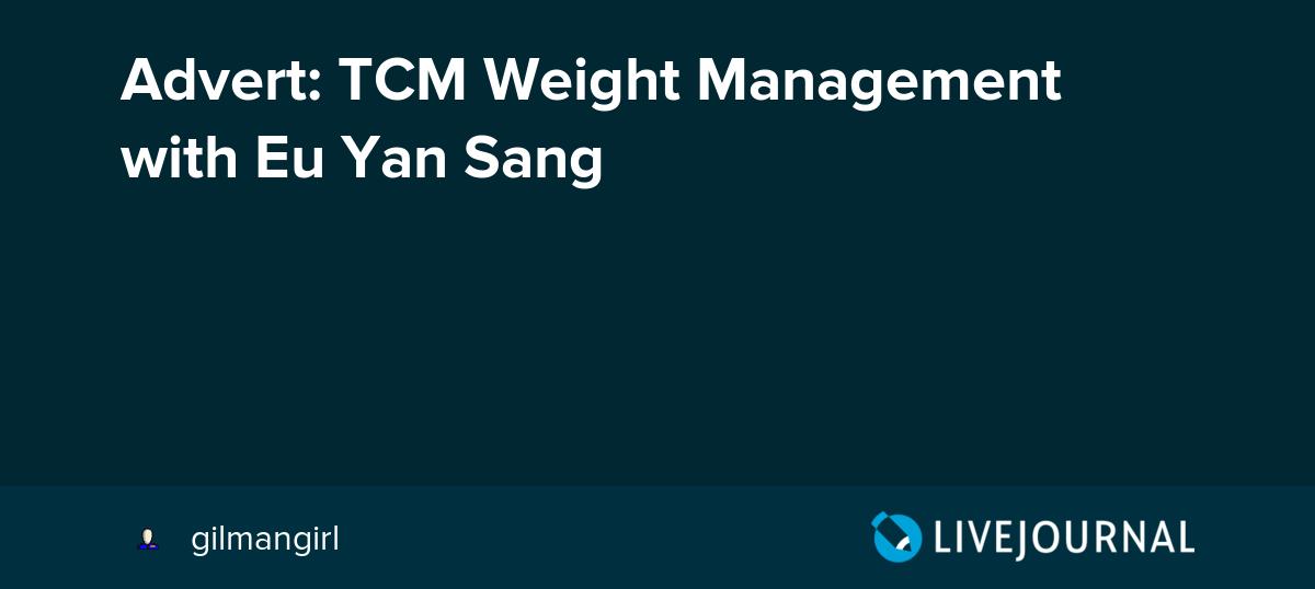 eu yan sag tcm slimming review