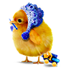 rainbowsglitter sent you a chicken