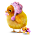 bunny777777 sent you a chicken
