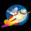 gerald_falzon sent you Frank in the Rocket!