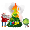 black_fishka sent you the burning tree