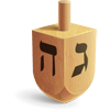 A secret admirer sent you a dreidel!