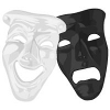 artemisofluna sent you Comedy and Tragedy masks!