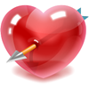 alades sent you an Arrow Through the Heart!