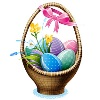 turtlelylovely sent you a Basket of Easter Eggs!