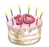 thefragrantelf sent you an LJ Turns 10 cake!