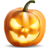 fireheart13 sent you an Evil Pumpkin!