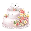 ellena_tea sent you a beautiful Wedding Cake!