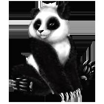 Cute panda says I don't suck