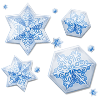 4everinblujeans sent you some beautiful Snowflakes!