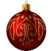 mandagrammy sent you a beautiful Red Ornament!