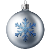lilmoochie sent you a beautiful Silver Ornament!