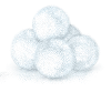 4everinblujeans sent you some snowballs for a Snowball Fight!