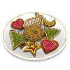 doralice_29 sent you a delicious plate of Cookies!
