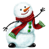 sbyte sent you a friendly Snowman!