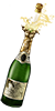 virtualpersonal sent you some exploding Champagne!