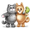 cheslava_romana sent you some Furry Friends for charity!