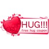chomiji sent you a Hug Coupon redeemable for one free hug!