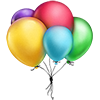 putain sent you some colorful Balloons!