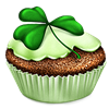 ladyfeather sent you a Clover Cupcake!