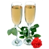 alelikand sent you some bubbly champagne!