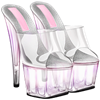 Someone sent you some platform stilettos!