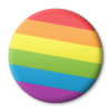 delaese sent you a rainbow pin to help support the It Gets Better campaign!