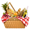 saanrio sent you a yummy picnic basket!