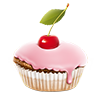 nenne sent you a delicious cupcake!