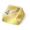 true_ sent you a Gold Keyboard Key!