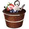 develish1 sent you a delicious, chocolate torte!