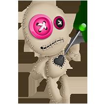 Voodoo Doll Pink