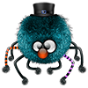 4udo_mz sent you a blue spider.