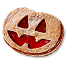evita sent you an Pumpkin Cookie!