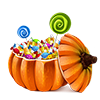 lv2walk sent you a Halloween Candies!