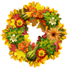 heyurs sent you a Thanksgiving garland!