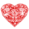 jacinthe86 sent you Glass Heart